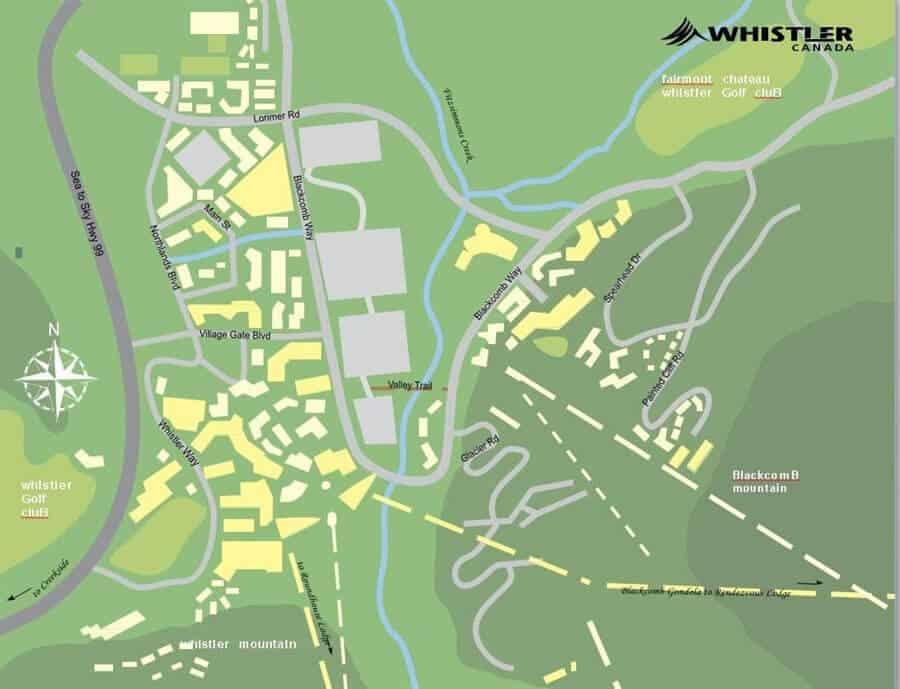 whisttler map