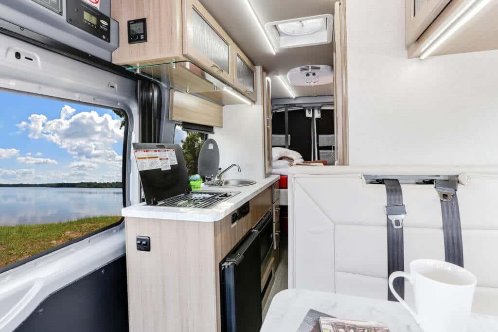 Fraserway Van conversion interior103