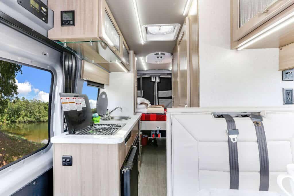Fraserway Van conversion interior104