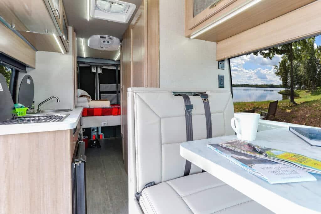 Fraserway Van conversion interior105
