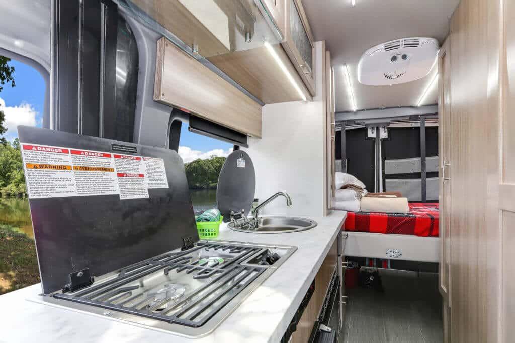 Fraserway Van conversion interior108