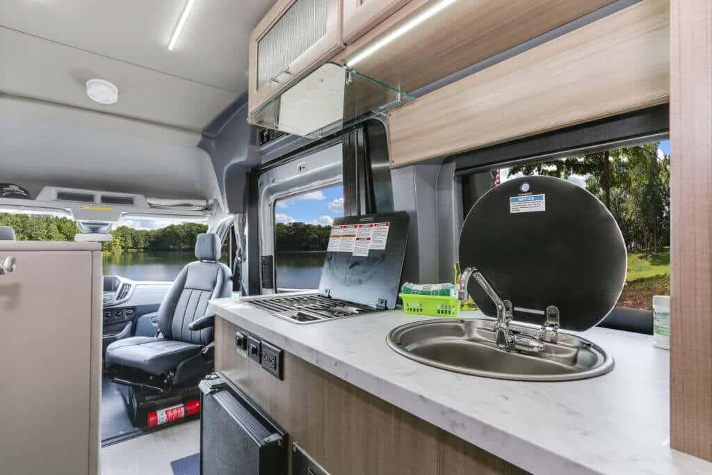 Fraserway Van conversion interior109