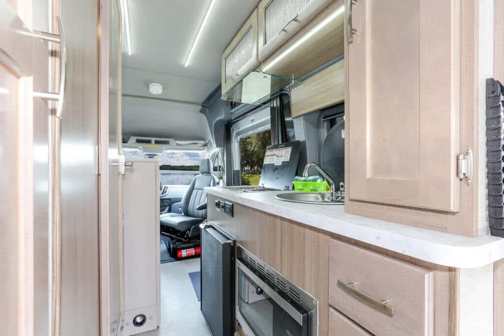 Fraserway Van conversion interior110