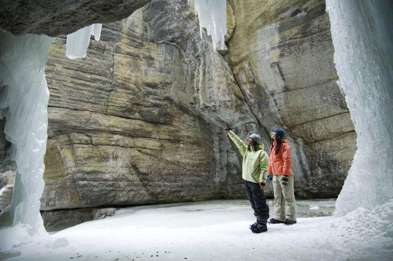 Maligne Canyon Icewalk, Jasper National Park