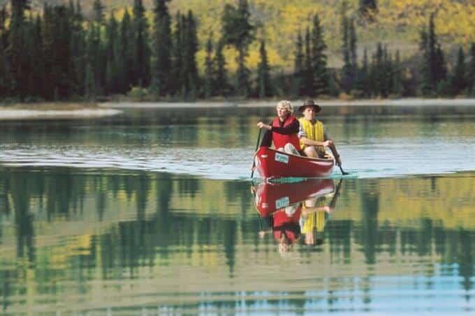 canoeing 21