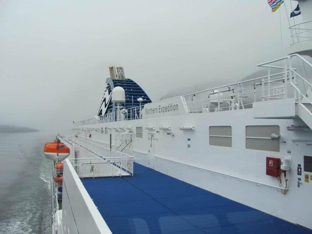 Inside Passage Ferry