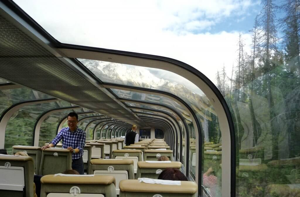 Rocky Mountaineer Gold Leaf view