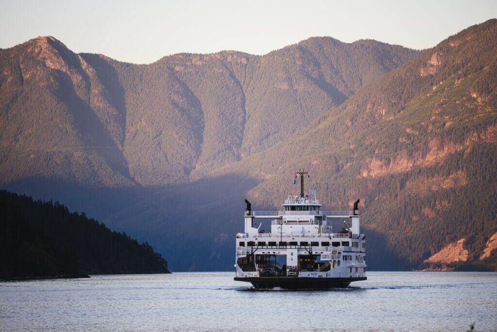 Sunshine Coast ferry Saltery Bay-Earl's Cove