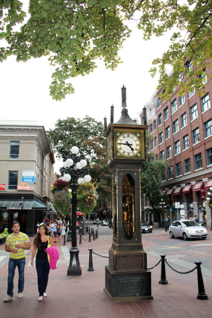 Vancouver Steamclock
