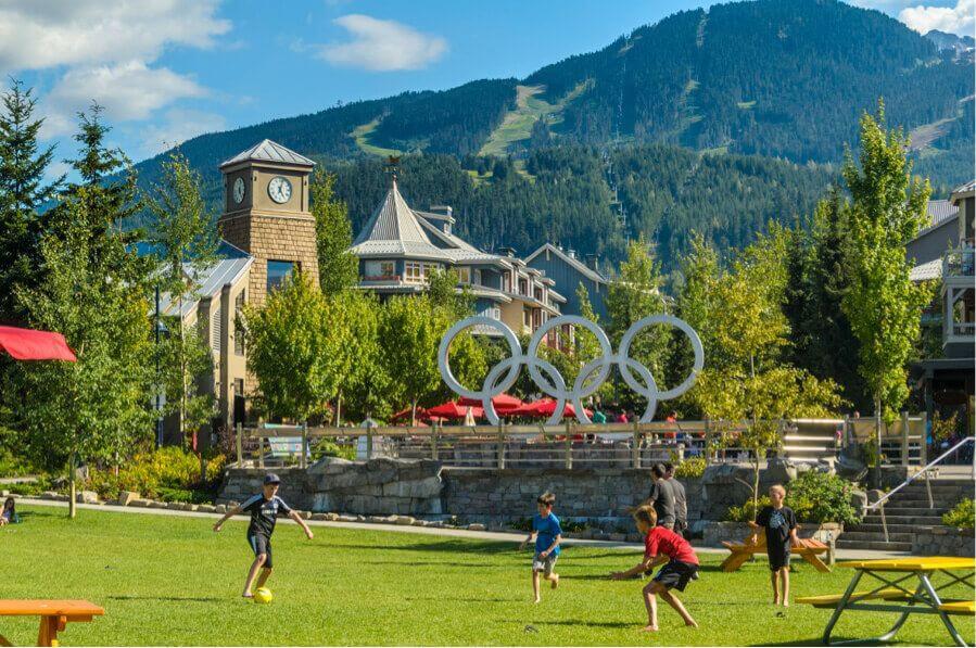 Olympic Village, Whistler