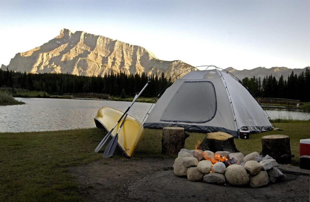 camping banff national park 8