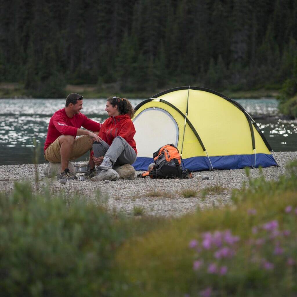 camping banff national park2 8