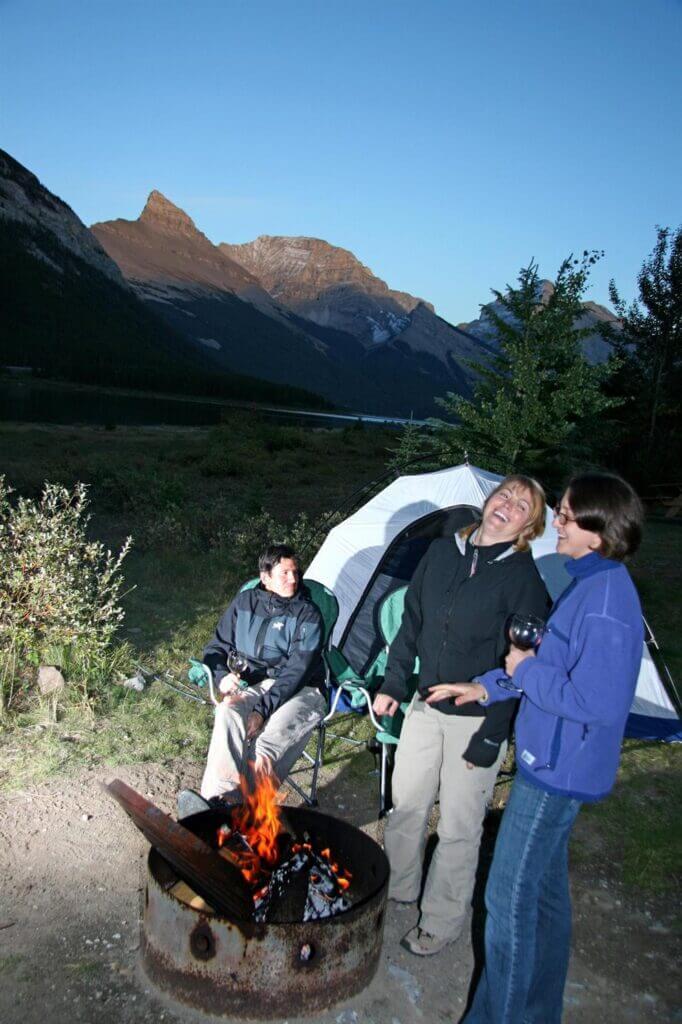 camping west spray lakes campground kananaskis country 8