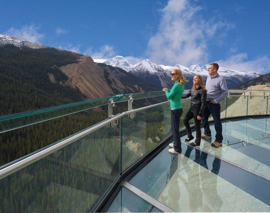Glacier Skywalk photo by Brewster Travel
