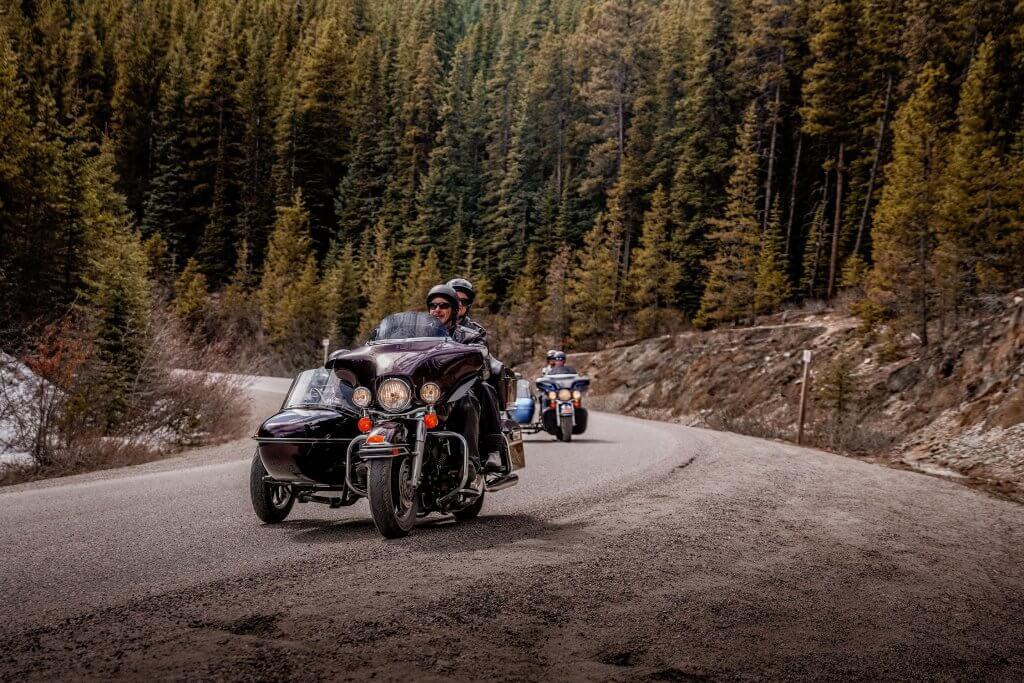 Jasper Motorcycle Tour