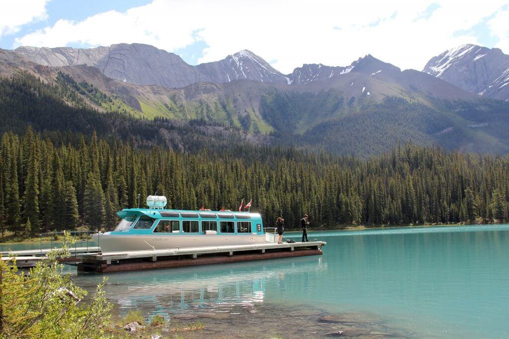 Jasper Spirit Island Cruise Maligne Lake