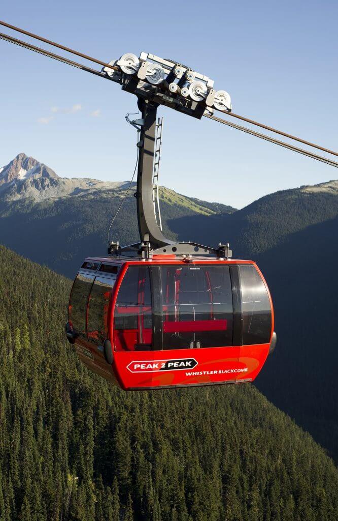 Whistler Peak to Peak photo credit To David McColm
