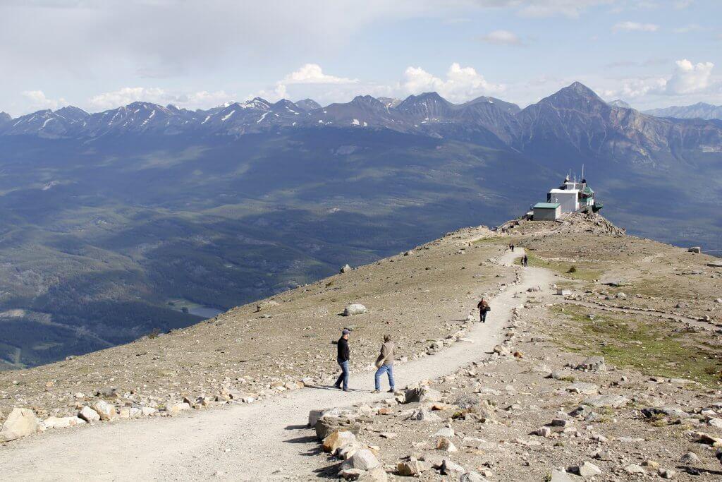 Jasper skytram Whistler Mountains