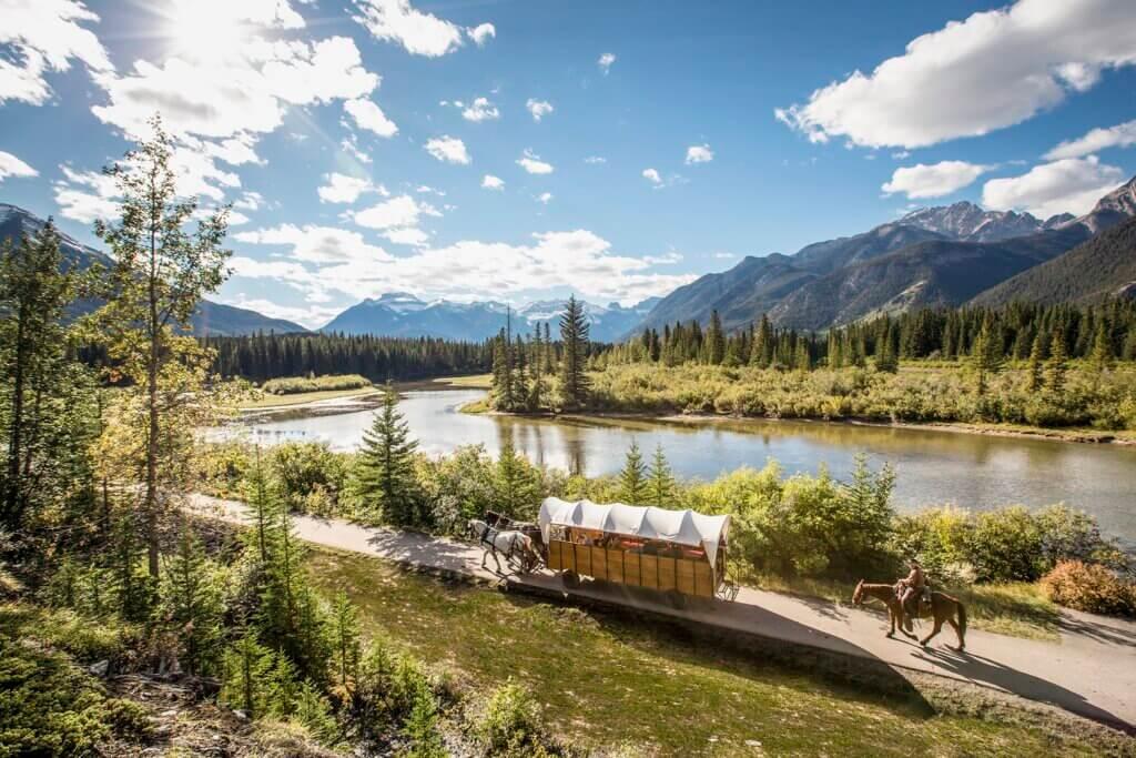 Banff huifkartocht